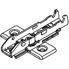 Крестовая ответная планка TIOMOS 1D, 4-точечное крепление (0мм) на саморез F058139746217 GRASS