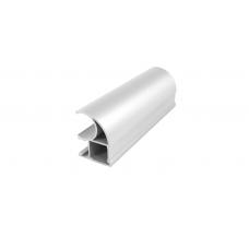 Вертикальный профиль FURNIAL - С Классик  Белый глянец 5,4 м  1 мм   PREMIAL