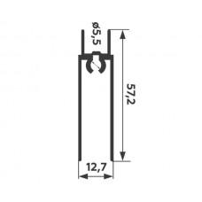 Горизонт нижний Венге блестящий 5,9 м    1,2мм  PREMIAL