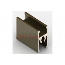 *Рамка средняя блест.бронза под саморез  5,35м (анод) Аристо