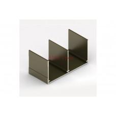 *Верхняя направляющая  блест.бронза  5,35м (анод) Аристо
