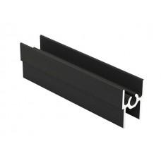 Рамка верхняя  черный матовый 1,2мм 5,35м Аристо  Т