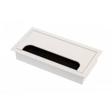 Кабель-канал прямоугольный 80х160 белый