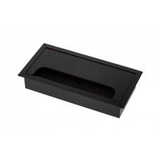 Кабель-канал прямоугольный 80х160 черный